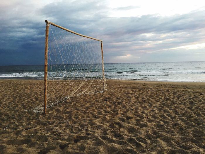Ocean Ocean View Beach Life Vacation Soccer First Eyeem Photo New Talent