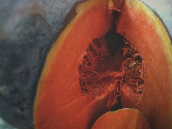Zucca Pumpkin Orange Color Smartphone Photography Mobilephotography S3 Mini Eyeball Red Close-up
