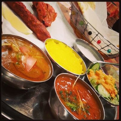 やけ食い カレー部 Curry