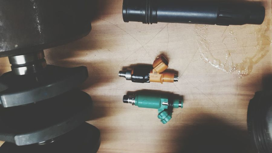 EyeEm Selects Automotive Close-up High Angle View Fuelinjection Fuel Injectors engine components
