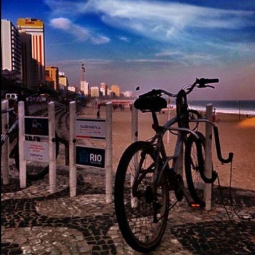 A bike enjoyng