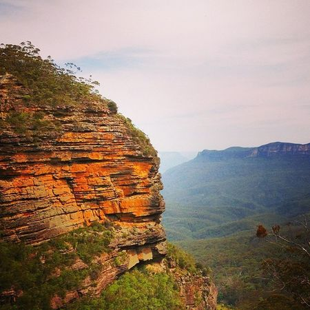 I really enjoyed my last excursion on Bluemountains , from Katoomba to Leura , passing from the Leuracascades . Sydney Nsw Australia Travel Whv Landscape Summer