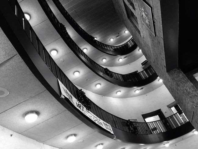 Architecture Frisco Public Library Built Structure Stairs Level Floor