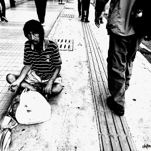 Monochrome Photography Person Innocence City Life Low Section Lifestyles Day Street Style From Around The World Klpf2016 Street