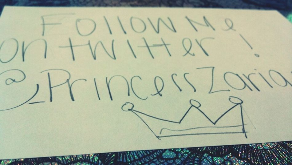  on Twitter @_PrincessZaria