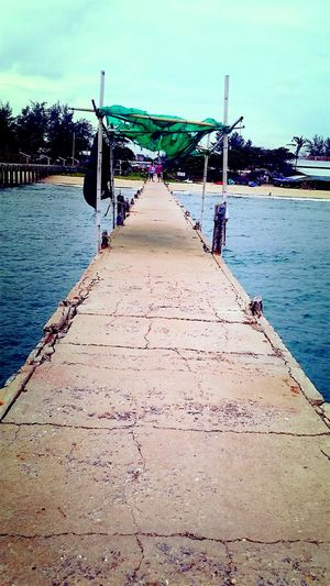 walkway to sea and windcool Water Sea And Sky Wind Chill Beautifulsky Beautful View