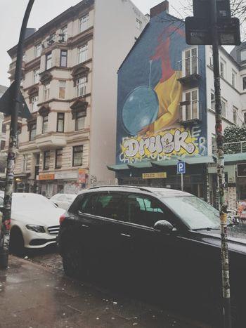 #samsungmobilephotography #snowyday Hamburg