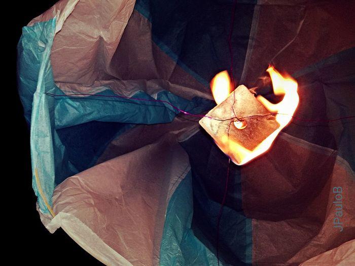 Paper ballon🎆🎈 Paper Art Ballon Fire Balloon Popular Holiparty Porto, Portugal Saojoao