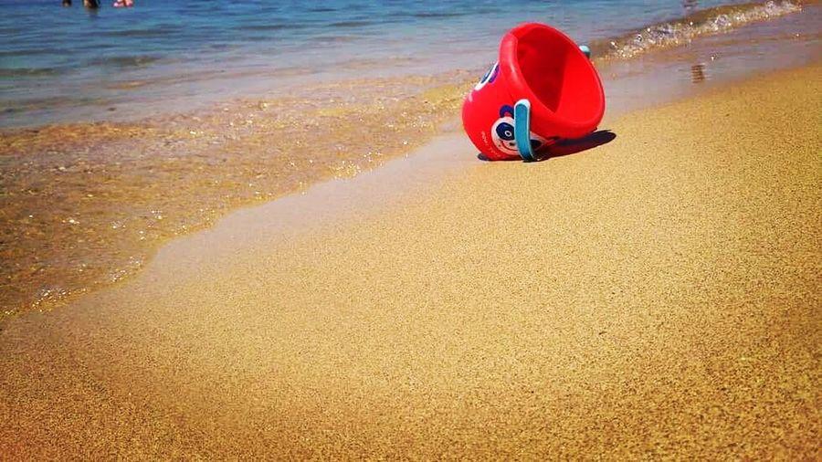 Childhood Beach Sand Water Sea Childness Nature