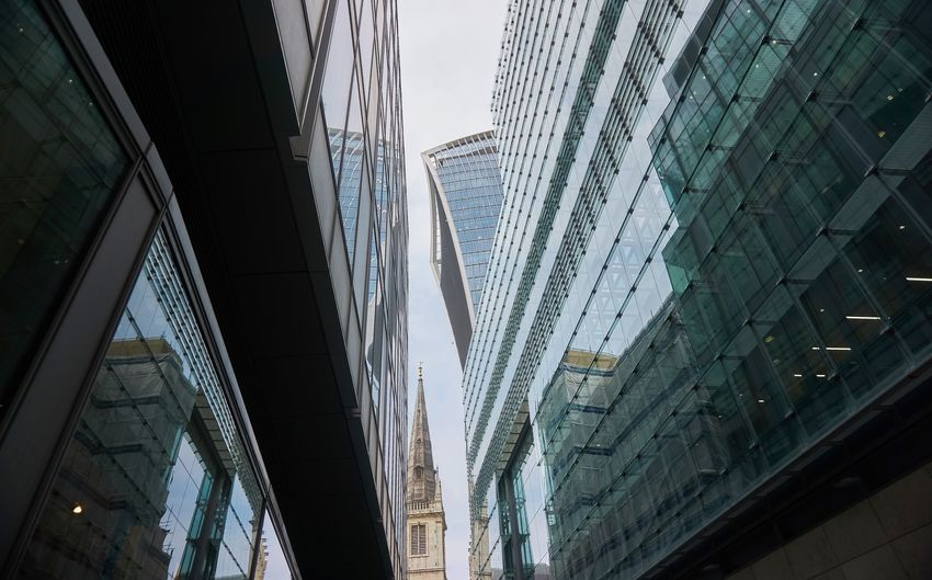 Architecture Building Building Exterior Built Structure City Day Financial District  Glass - Material Low Angle View Modern Nature No People Office Office Building Exterior Outdoors Reflection Sky Skyscraper Tall - High Tower Window