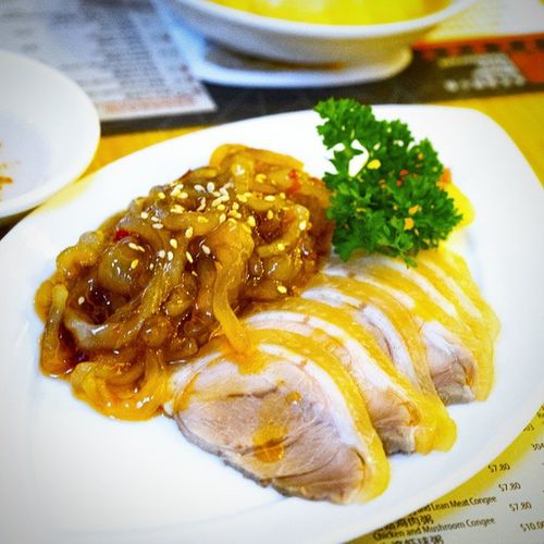 This is not half as bad. Spicy Jelly Fish with Sliced Pork Trotter. Burpple Noodleplacerestaurant Hongkongrestaurant Hongkongfood orchardgateway jellyfishwithporktrotter