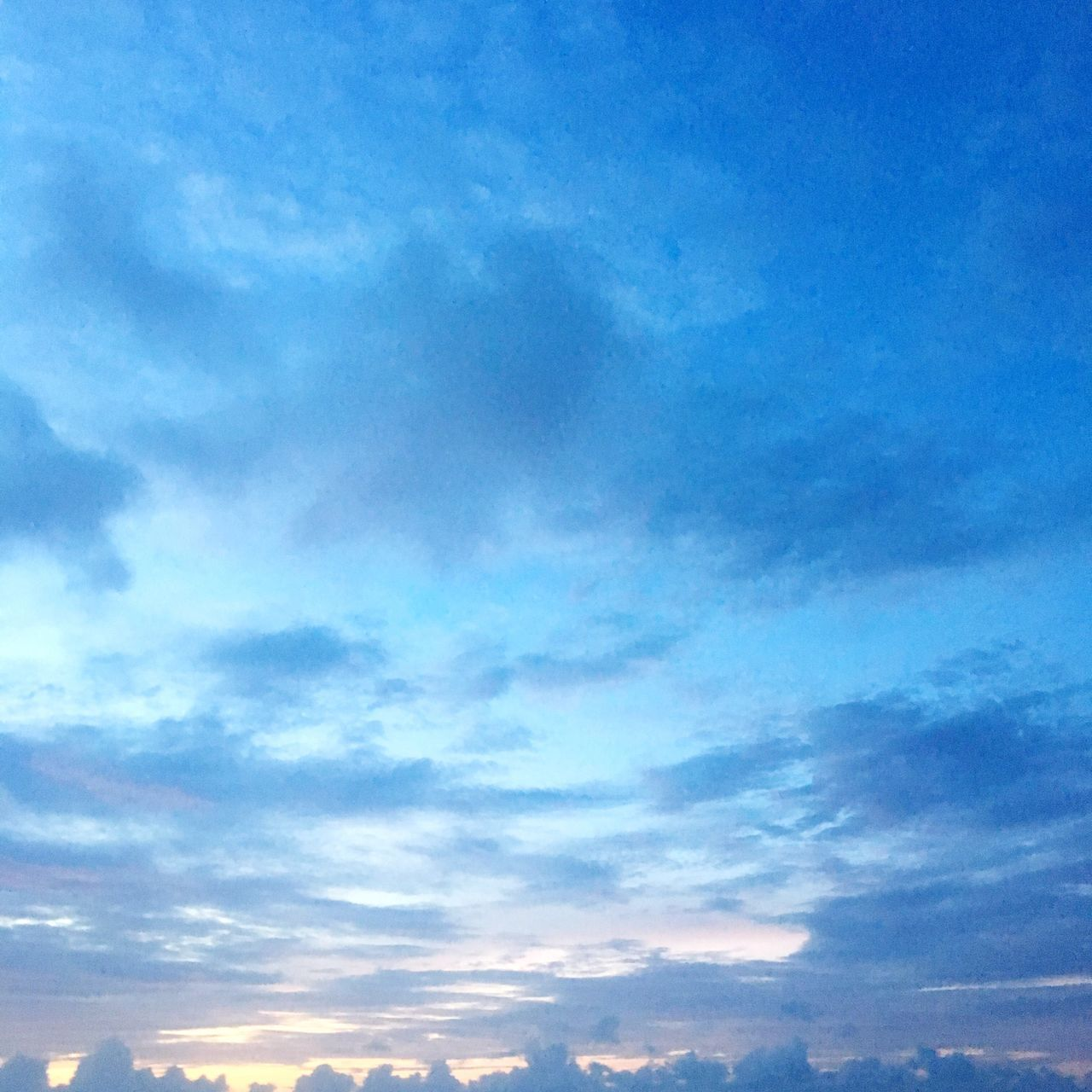 sky, low angle view, nature, cloud - sky, beauty in nature, blue, sky only, backgrounds, no people, outdoors, scenics, tranquility, day