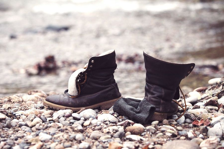 Shoes Shoeslover Shoe Love Boots Boot Gravel Gravel Walk Gravel Shore Outdoors Shore Riverwalk River Shore EyeEmNewHere Long Goodbye Resist The Secret Spaces Art Is Everywhere Break The Mold The Great Outdoors - 2017 EyeEm Awards The Portraitist - 2017 EyeEm Awards The Photojournalist - 2017 EyeEm Awards The Street Photographer - 2017 EyeEm Awards Live For The Story Let's Go. Together. Sommergefühle Be. Ready.