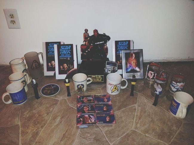 My Obsessions (: Star Wars Startrek Obsessions