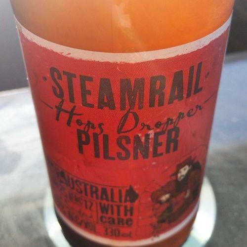 Hoppy Friday! Hopsdropper Steamrail Beer