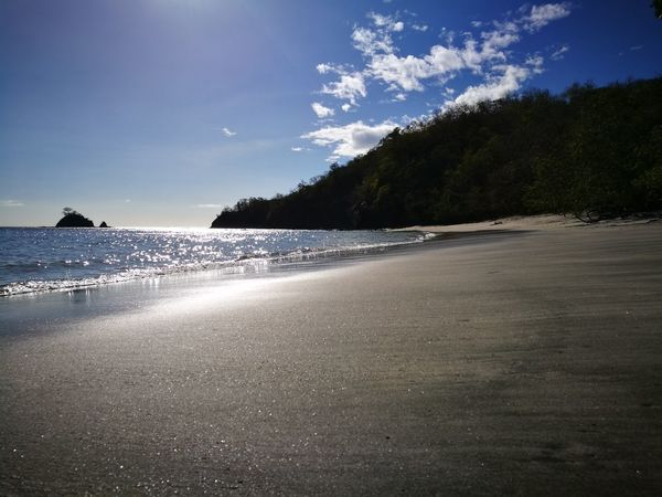 Dantita's Beach Guanacaste, Costa Rica Sunshine ☀ Vacations Tranquil Scene Outdoors Beauty In Nature Sky Clear Sky Nature Sand Water Sea Beach Tree Tranquility Horizon Over Water Scenics Day Reflection Sand Beach No People