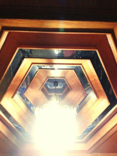 The Architect - 2015 EyeEm Awards Ceiling Lights Mirrors