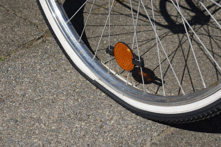 Bicycle Bike Close-up Cycling Flat Flat Tire Flat Tyre Tire Wheel