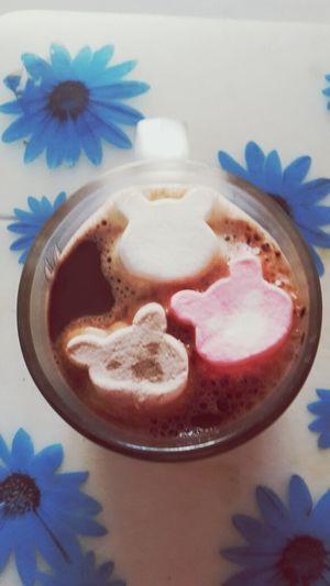 Hot Chocolate Marshmallow Food Food Porn