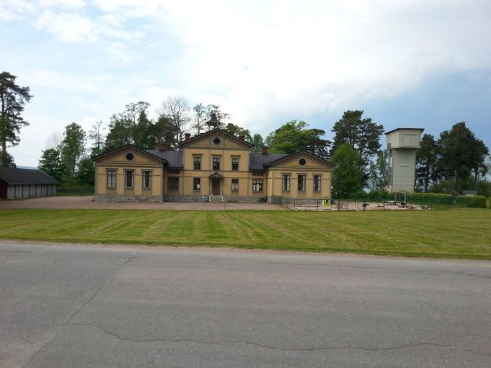Building I Love Sweden No People Karlsborg Military School