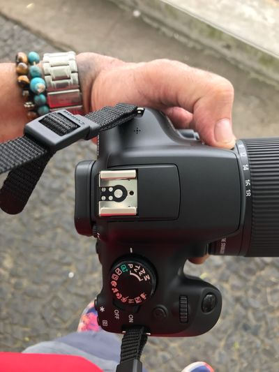 Real People Technology Human Hand Camera - Photographic Equipment One Person Holding Photographing Photography Themes Camera Digital Camera Day Wireless Technology Lifestyles Modern
