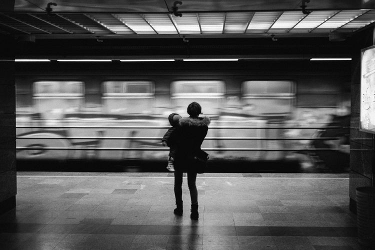 Waiting Adult Blurred Motion Child Full Length Metro Mode Of Transport Motion People Public Transportation Railroad Station Real People Standing The Street Photographer - 2017 EyeEm Awards Train - Vehicle Transportation Women Adventures In The City Focus On The Story #FREIHEITBERLIN The Street Photographer - 2018 EyeEm Awards International Women's Day 2019