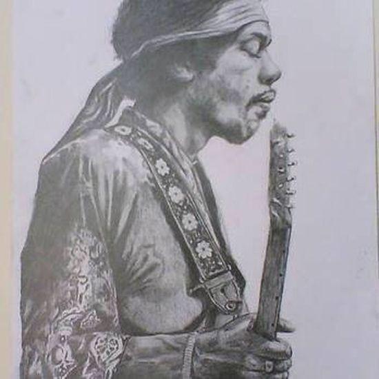 Pencil Drawing Jimihendrix