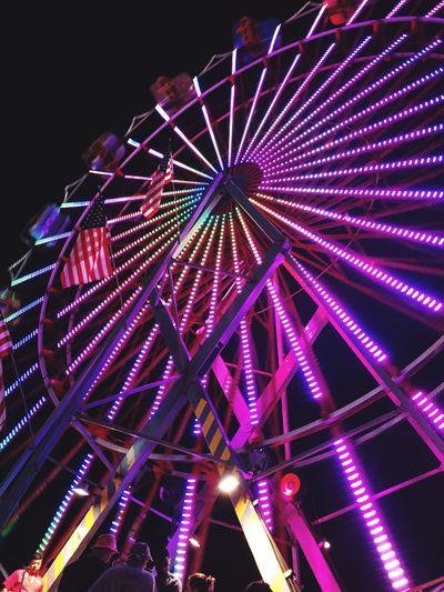 Neon wheel First Eyeem Photo