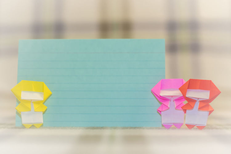 Close-up Creative Day Focus On Foreground Makeing Ninja No People Origami Outdoors Paper Pink Color