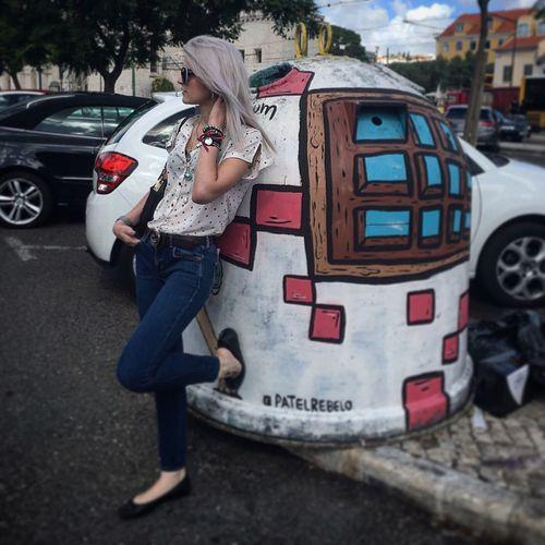 🇵🇹🎀 Portugal Belém Blondie Pharmacist Spanish Girl Holidays Urban Art First Eyeem Photo