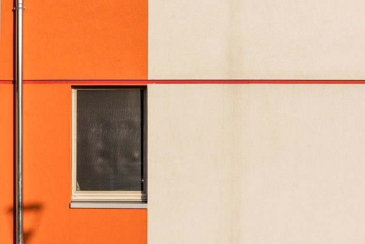 Building Exterior Colors Day No People Orange Color Outdoors