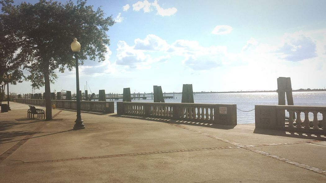 Fort Myers Florida Bay Water Docks Park