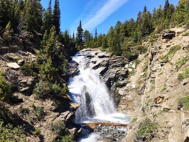 Toboggan Waterfalls Mount Robson Provincial Park