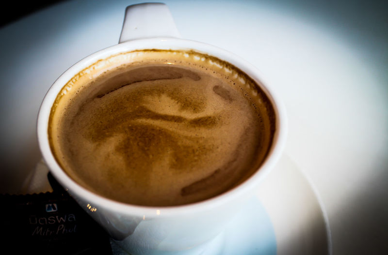 Coffee Cappuccino Close-up Coffee - Drink Coffee Cup Drink Food And Drink Hot Coffee On A Cold Winters Night