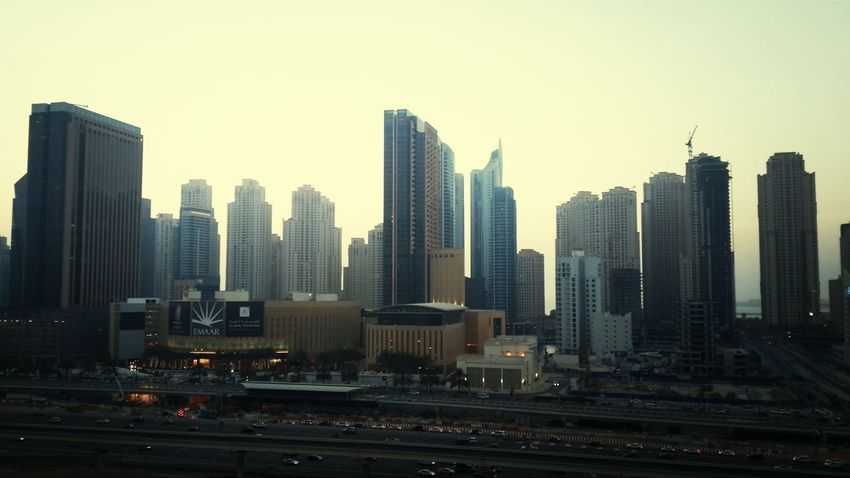 View from JLT cluster R aint that bad. DXB Dubai Enjoying Life