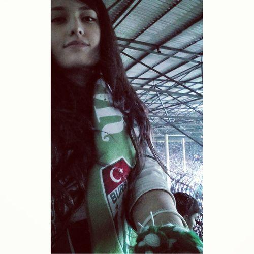 Yeşil Beyaz bir Aşk buu. Bursaspor AdıAşkBuEziyetin YeşilBeyaz Bursasporluyuz