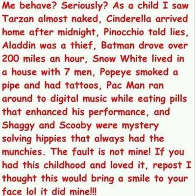Goodchildhood what about you