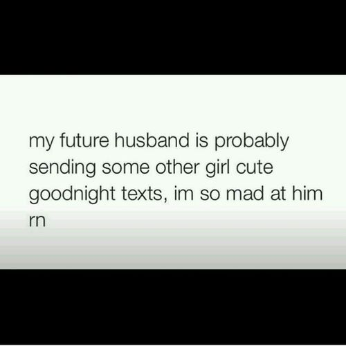 Husband Jokes Bedtime Men So so mad ?