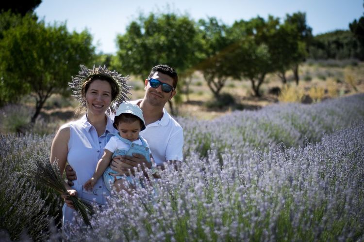 Flower Togetherness Growth Plant Field Family Nature Happiness Smiling Outdoors Bonding Son Lifestyles Day Beauty In Nature Real People Childhood Young Women Young Adult Adult Lavender Lavander Flowers Lavender Colored