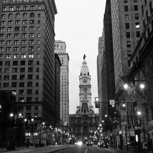 Philadelphia Cityhall Benfranklin Blackandwhite Urban Photography Urban Life Urban Landscape Pennsylvania Philly Phillyphotographer Broad Street 215 Cityscapes City Life City Lights