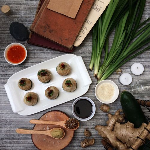 Flatlay Foods Singaporean Cuisine Rice Balls Wee Nam Kee Ph