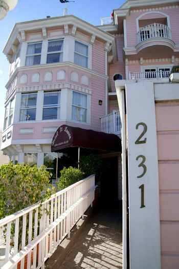 Catalina Island  Travel Photography Bed And Breakfasts Pink Color Hello World Check This Out Taking Photos Relaxing Taking Photos Enjoying Life Islandlife Old Buildings