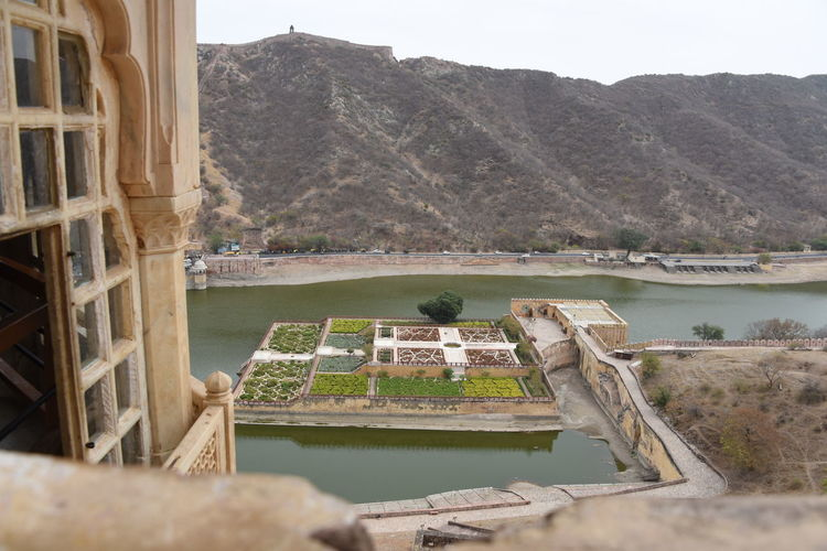 view from amer fort jaipur Amer Fort Amer Fort Jaipur Amer Palace Amer Fort Garden Garden Historical Building Historical Architecture Nature Outdoors Day Water No People Sky Beauty In Nature Freshness Green Color Sky And Clouds Places To Visit In Jaipur Mountain Jaigrah Fort Scenics Vacations Travel Destinations Growth EyeEmNewHere