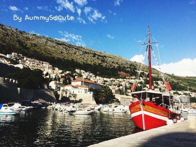 Hello World Relaxing Taking Photos Enjoying Life Sightseeing AummySoCute Enjoying The Sun Travel Photography Fresh Air Dubrovnik - Croatia❤