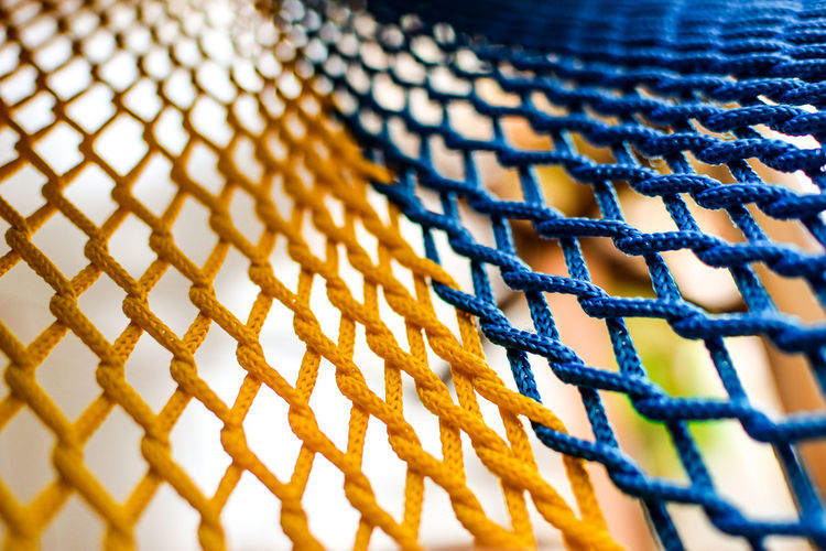 Full Frame Shot Of Netting