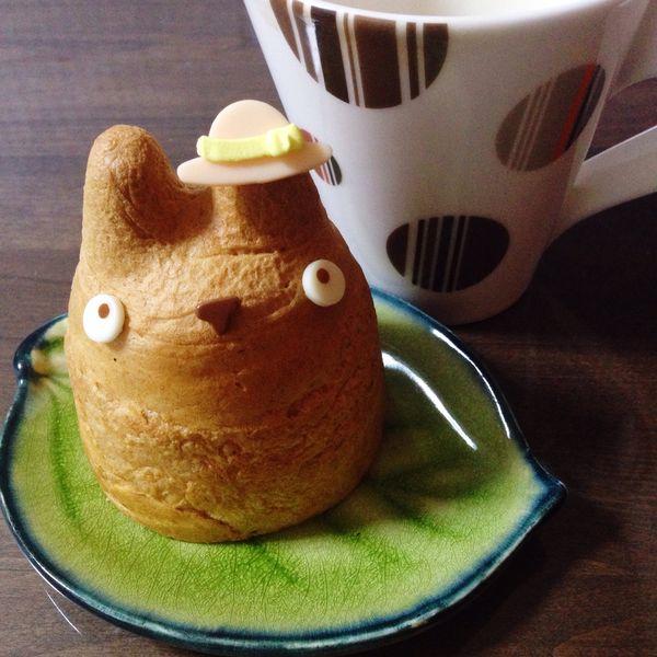 My Neighbor Totoro Cream Puff Choualacreme Windbeutel Food Food And Drink Sweet Food Tea Time Cakes Sweets Japan Made In Japan となりのトトロ トトロ シュークリーム 白髭 宮崎駿 Hayao Miyazaki トトロのシュークリーム!