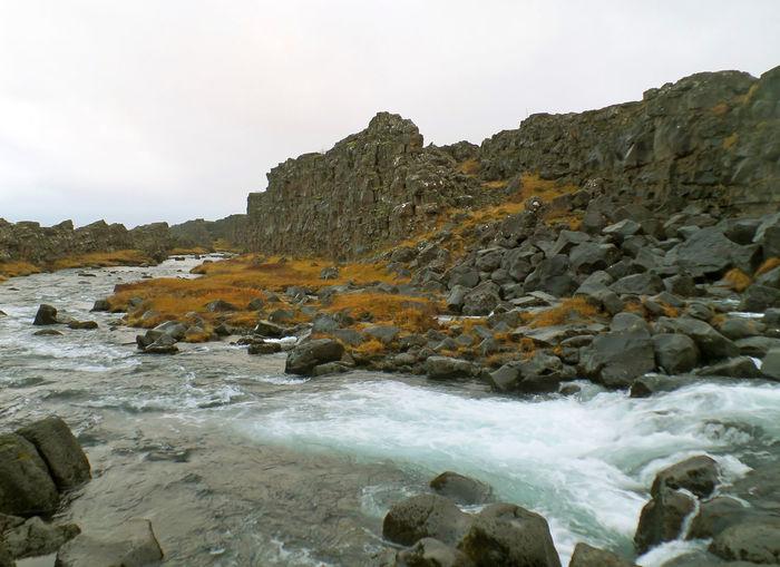 Oxara River in