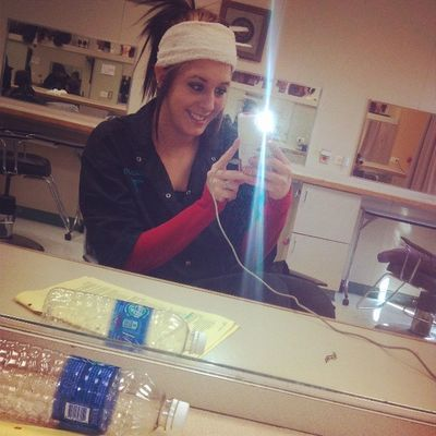 bout to get a facial yaay so excited (: