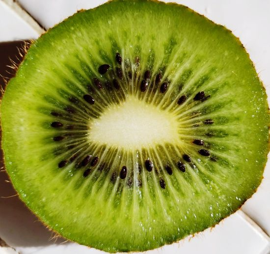 Fruit SLICE Cross Section Seed Kiwi - Fruit Close-up Green Color Food And Drink