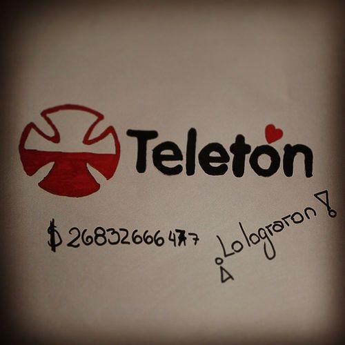 Lo logramos!!! Porque con la Teletón todos somos Chile. ¡FELICIDADES! Teleton Teletón2014 Selfieton Selfieton somostodos